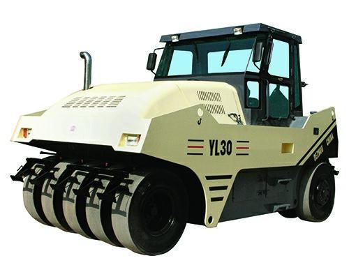 YL30型輪胎壓(ya)路機
